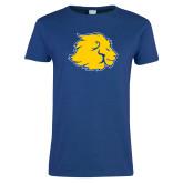 Ladies Royal T Shirt-Lion Head