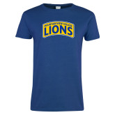 Ladies Royal T Shirt-Mountain View College Lions in Box
