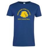 Ladies Royal T Shirt-Mens Basketball