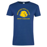 Ladies Royal T Shirt-Mens Soccer