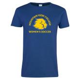 Ladies Royal T Shirt-Womens Soccer