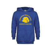 Youth Royal Fleece Hoodie-Womens Soccer