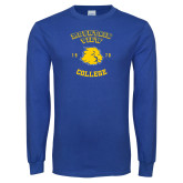 Royal Long Sleeve T Shirt-Mountain View Lions Est 1970