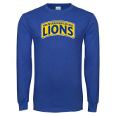 Royal Long Sleeve T Shirt-Mountain View College Lions in Box