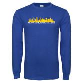 Royal Long Sleeve T Shirt-Skyline