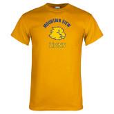 Gold T Shirt-Mountain View Lions