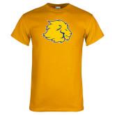 Gold T Shirt-Lion Head