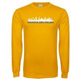 Gold Long Sleeve T Shirt-Skyline