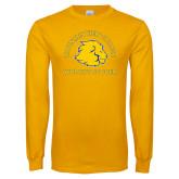 Gold Long Sleeve T Shirt-Womens Soccer