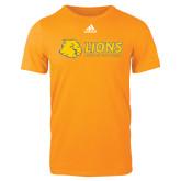 Adidas Gold Logo T Shirt-Lions w/ Lion Head