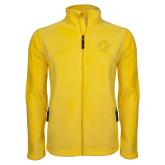 Fleece Full Zip Gold Jacket-Softball
