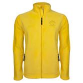 Fleece Full Zip Gold Jacket-Mens Basketball