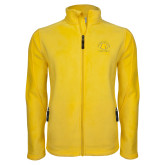 Fleece Full Zip Gold Jacket-Womens Basketball