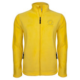 Fleece Full Zip Gold Jacket-Mens Soccer