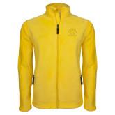 Fleece Full Zip Gold Jacket-Womens Soccer