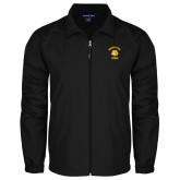 Full Zip Black Wind Jacket-Mountain View Lions