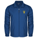 Full Zip Royal Wind Jacket-Mountain View Lions