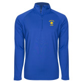 Sport Wick Stretch Royal 1/2 Zip Pullover-Mountain View Lions