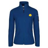 Columbia Ladies Full Zip Royal Fleece Jacket-Lion Head