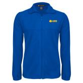 Fleece Full Zip Royal Jacket-Lions w/ Lion Head