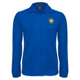 Fleece Full Zip Royal Jacket-Softball