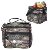 Big Buck Camo Junior Sport Cooler-Lions w/ Lion Head