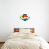 1 ft x 1 ft Fan WallSkinz-Blazers Stacked