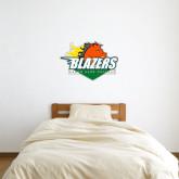 2 ft x 2 ft Fan WallSkinz-Blazers Stacked