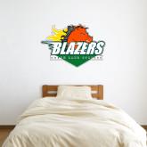 3 ft x 3 ft Fan WallSkinz-Blazers Stacked