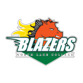 Medium Decal-Blazers Stacked, 8 inches wide