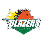 Large Decal-Blazers Stacked, 12 inches wide