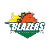 Small Decal-Blazers Stacked, 6 inches wide