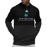 Adidas Black Team Issue Hoodie-Primary Mark