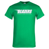 Kelly Green T Shirt-Blazers