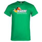 Kelly Green T Shirt-Basketball