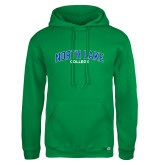 Russell DriPower Kelly Green Fleece Hoodie-Arched