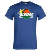 Royal T Shirt-Blazers Stacked