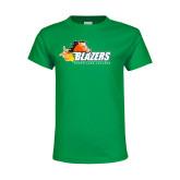 Youth Kelly Green T Shirt-Athletic Mark