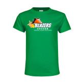 Youth Kelly Green T Shirt-Soccer