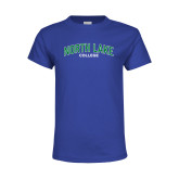 Youth Royal T Shirt-Arched