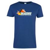 Ladies Royal T Shirt-Athletic Mark