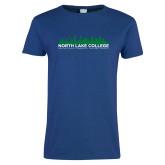 Ladies Royal T Shirt-Dallas Skyline