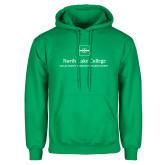 Kelly Green Fleece Hoodie-Primary Mark