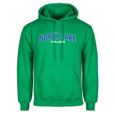 Kelly Green Fleece Hoodie-Arched