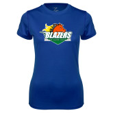 Ladies Syntrel Performance Royal Tee-Blazers Stacked