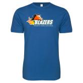 Next Level SoftStyle Royal T Shirt-Athletic Mark