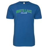 Next Level SoftStyle Royal T Shirt-Arched