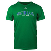 Adidas Kelly Green Logo T Shirt-Arched
