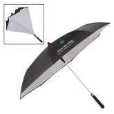 48 Inch Auto Open Black/White Inversion Umbrella-Primary Mark