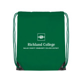 Kelly Green Drawstring Backpack-Primary Mark